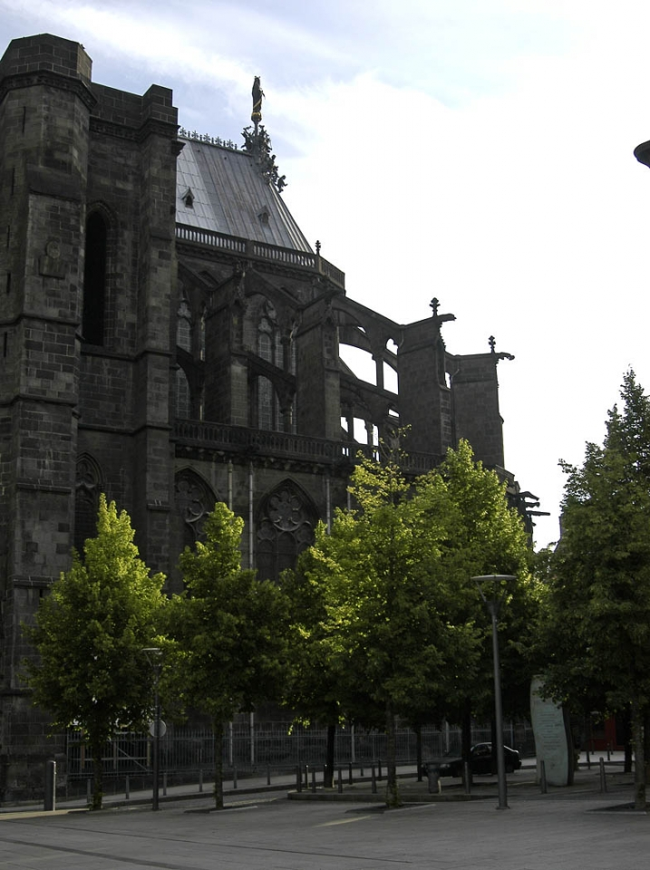 Cathédrale de Clermont ; chevet