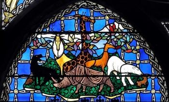 Cathédrale de Clermont ; vitraux