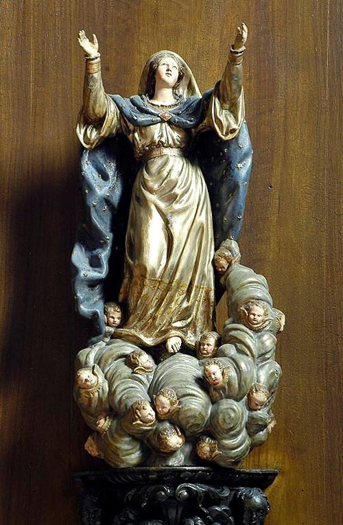 Cathédrale de Clermont ; statue