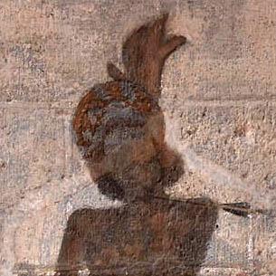 saint Sébastien percé de flèches, cathédrale de Clermont