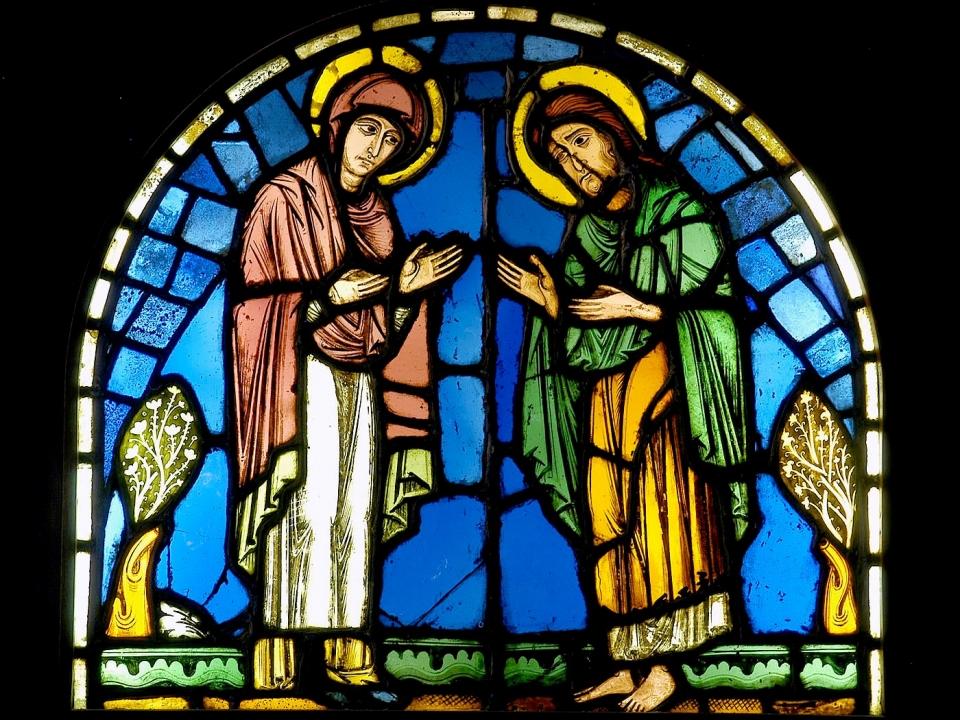 Cathédrale de Clermont ; vitraux - deisis