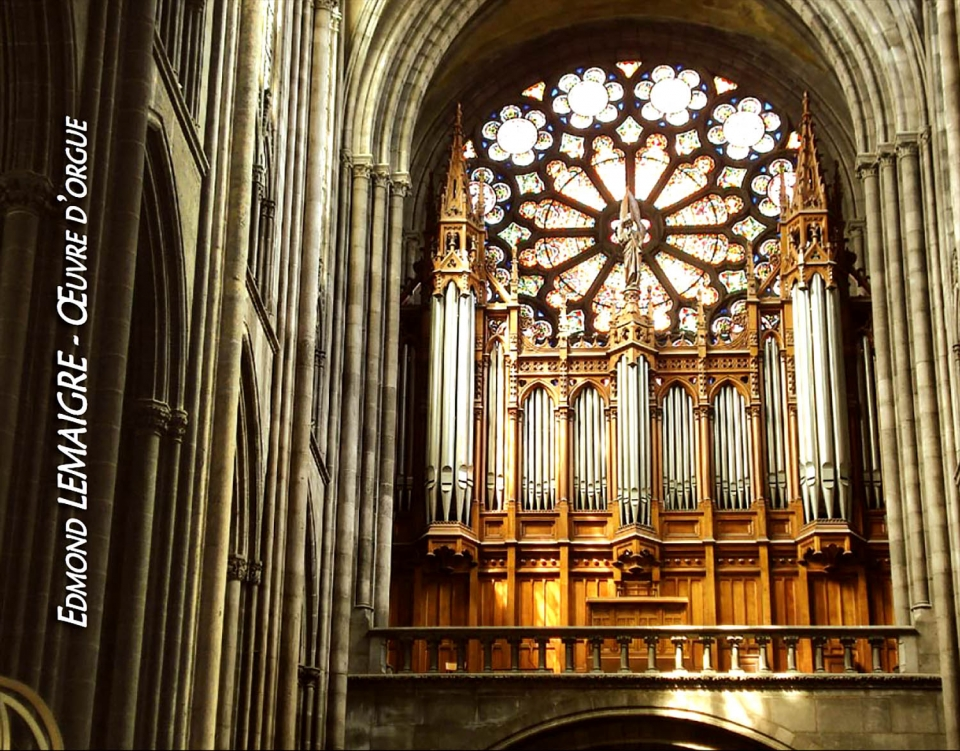 cathedrale de Clermont ; orgue