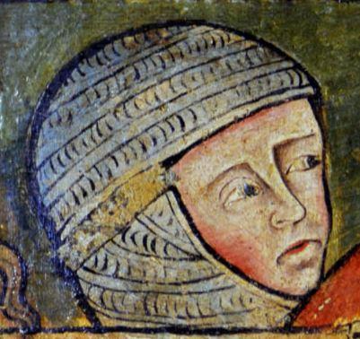 Peinture murale, chapelle Saint-Georges, cathédrale de Clermont